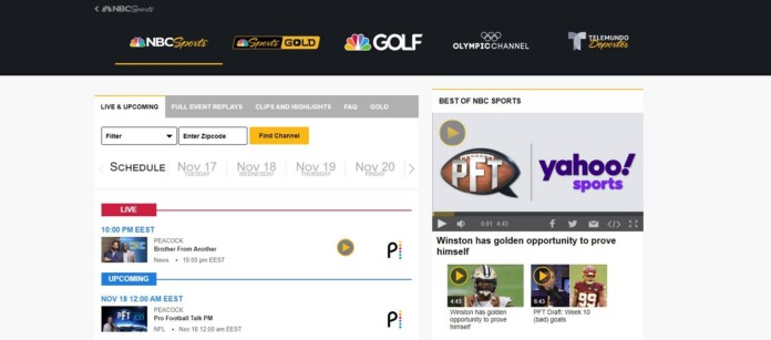 NBC Sports Live screenshot