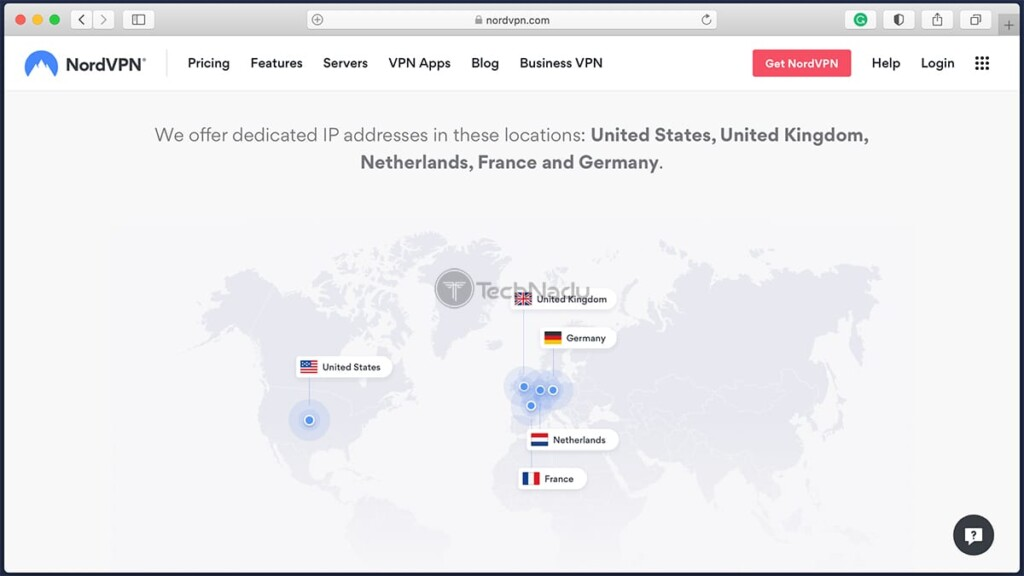 NordVPNs List of Countries Where Dedicated IPs Are Available