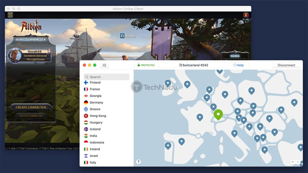 Playing Online Game via NordVPN
