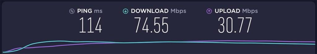 Testing Private Internet Access Server in USA
