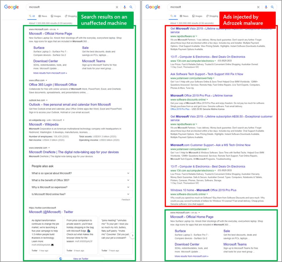 Ad-injecting malware hijacks Chrome, Edge, Firefox