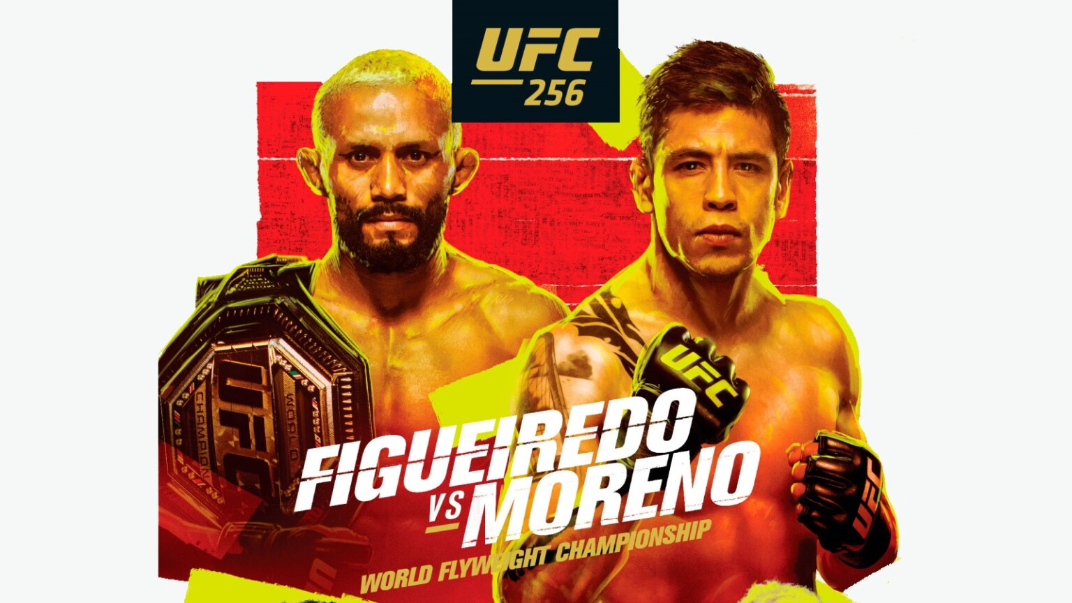 UFC 256: Figueiredo vs. Moreno Weigh-In Photo and Video