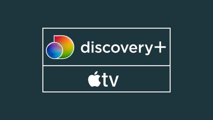 Discovery Plus Apple TV Logos