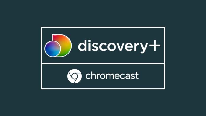 Discovery Plus Chromecast Logos