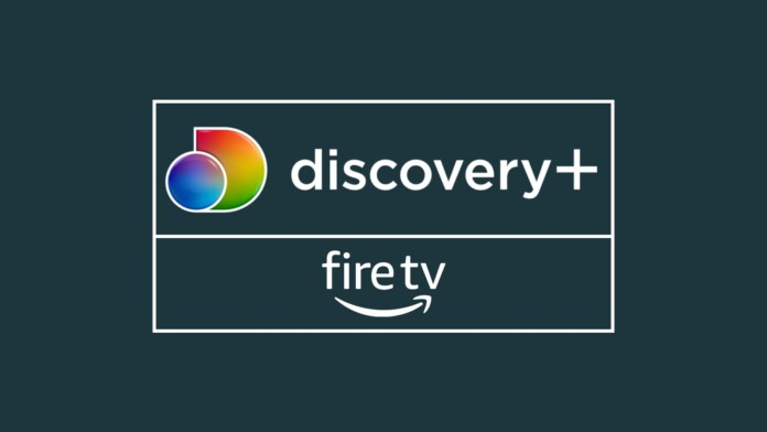 Discovery Plus Fire TV Logos