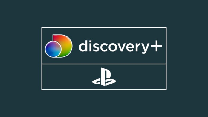Discovery Plus PlayStation Logos