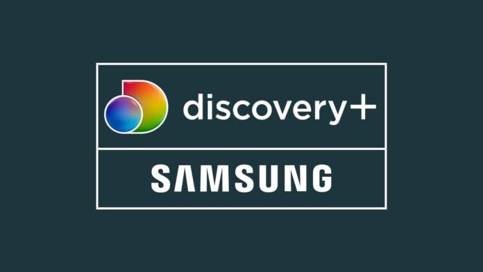 Discovery Plus Samsung Logos