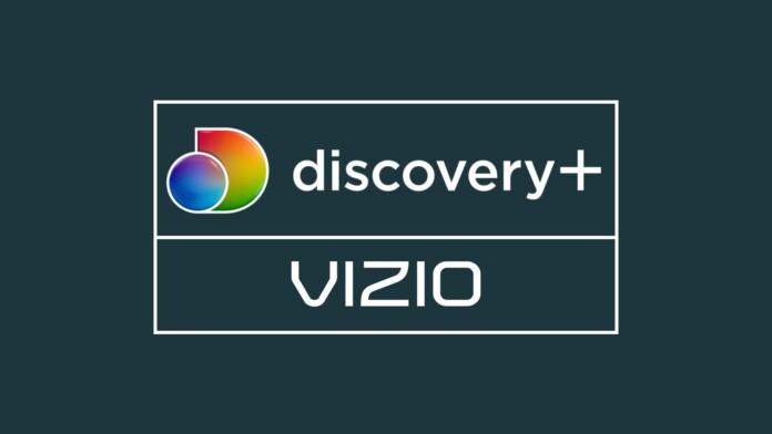 Discovery Plus Vizio Logos