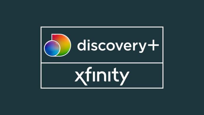 Discovery Plus Xfinity Logos