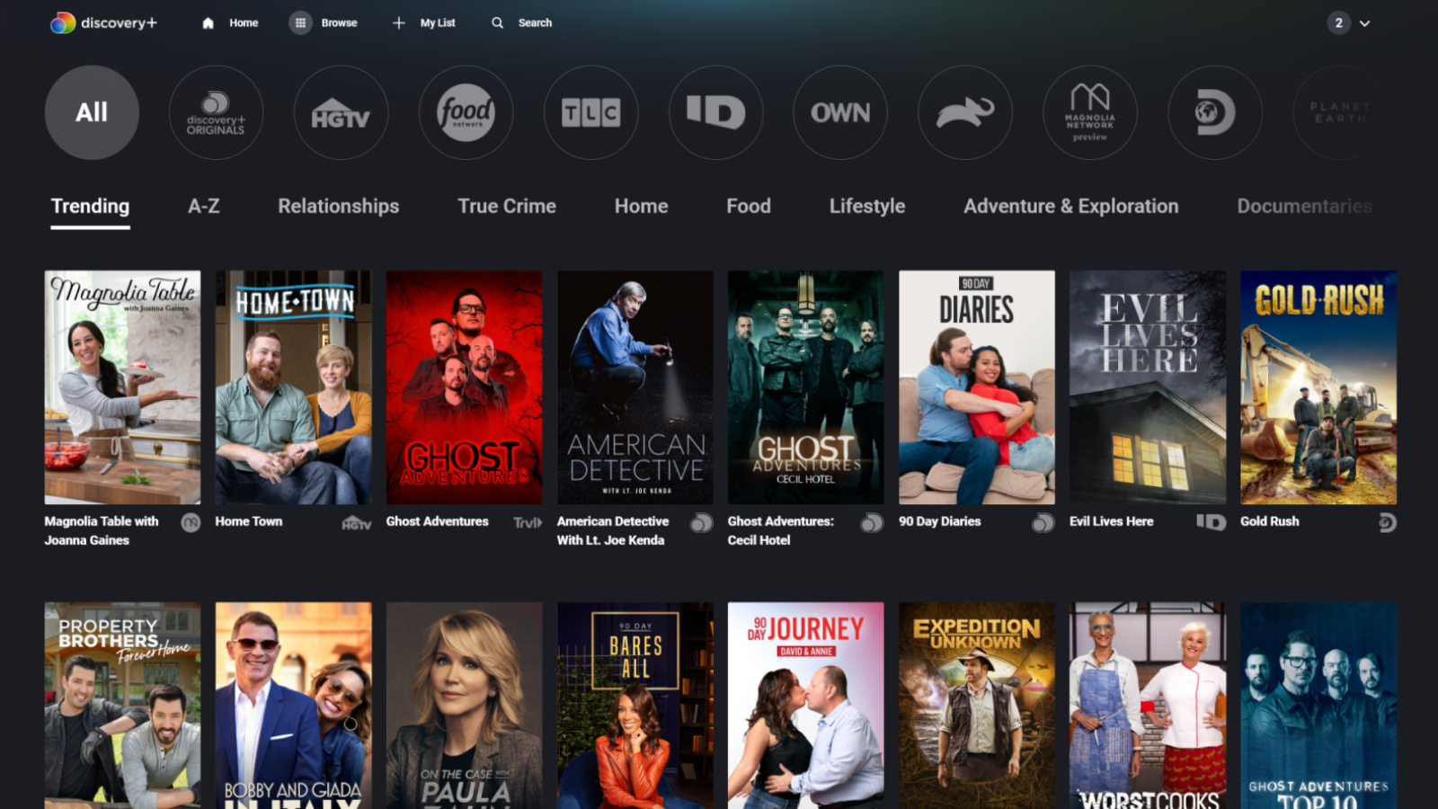 How to Remove Titles From Continue Watching on Discovery Plus