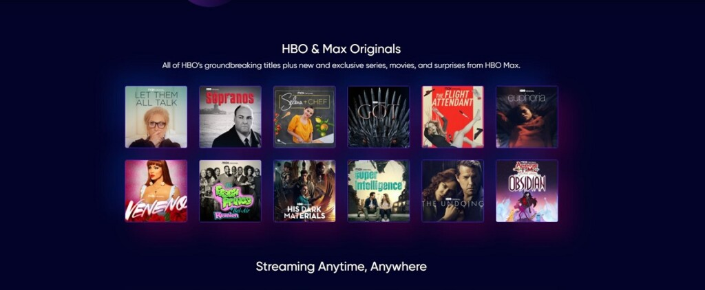 Original shows on HBO Max