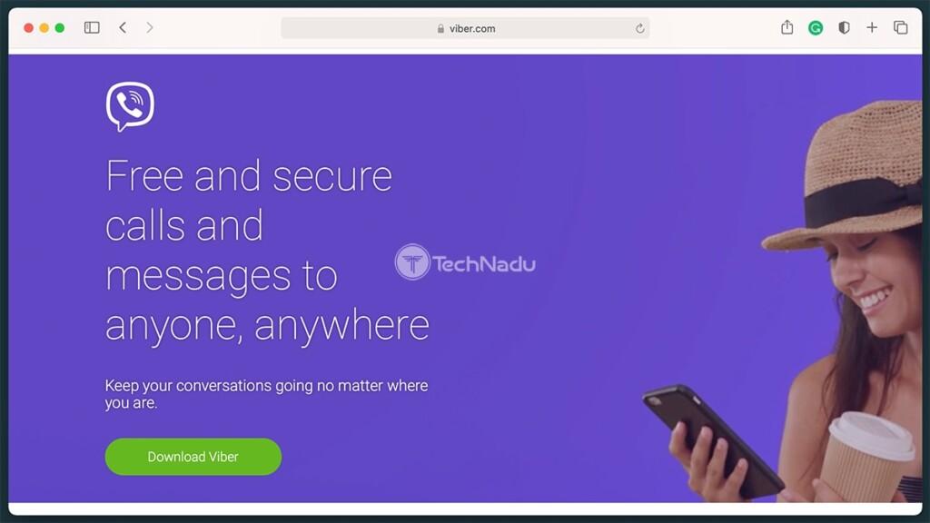 Viber Homepage