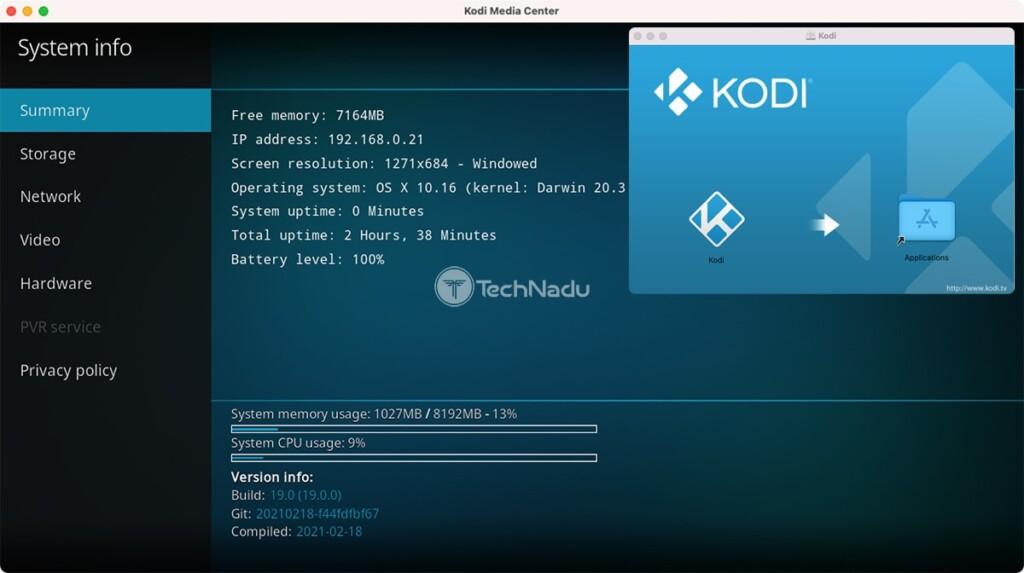 Kodi Downgrade from 19 to 18