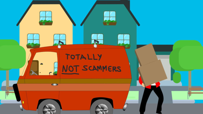scam movers