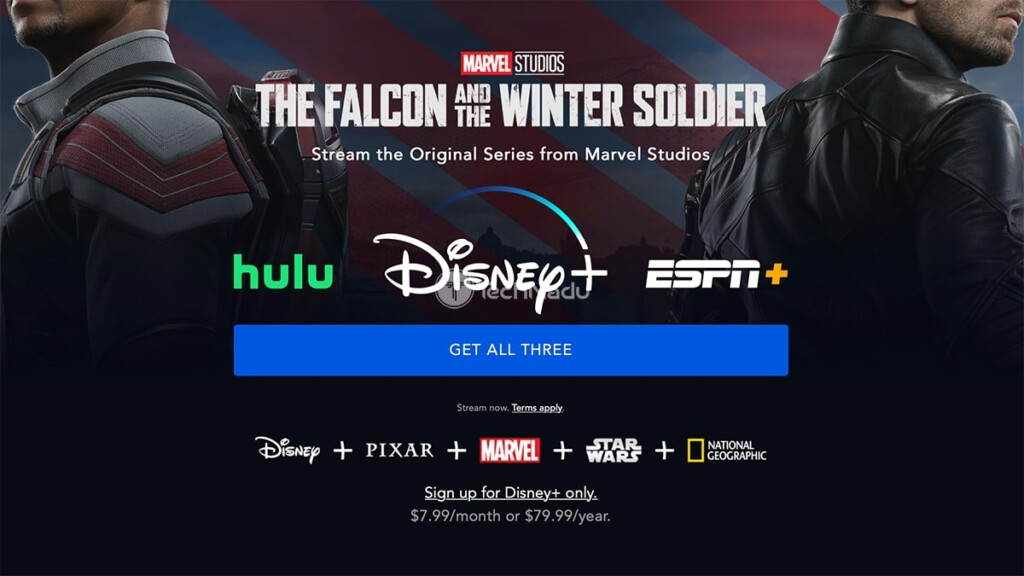 Disney Plus Sign-Up Page