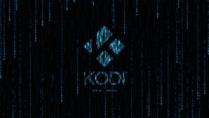 Kodi Matrix Splash Screen