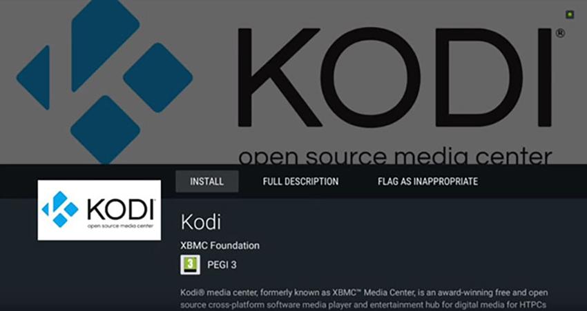 Kodi Nvidia Shield Play Store Interface