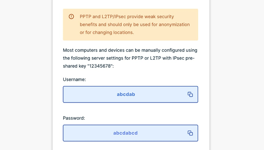 L2TP Setup for ExpressVPN