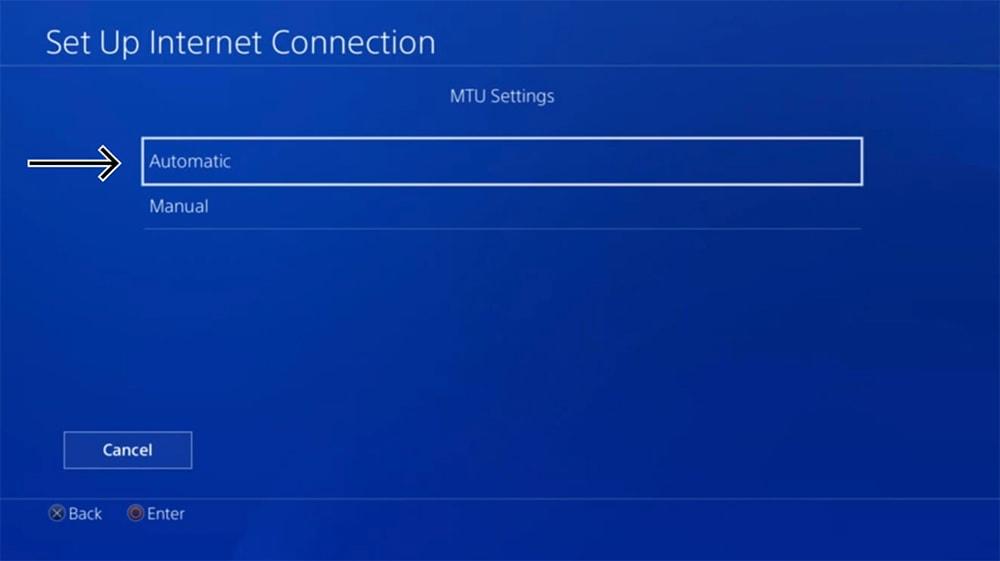MTU Settings on PlayStation