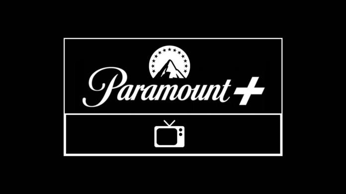 Paramount Plus Logo with a TV Icon