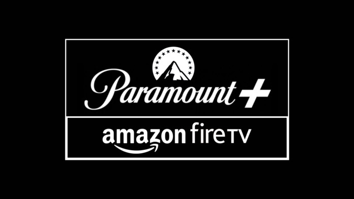 Paramount Plus and Amazon Fire TV Logotypes