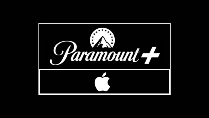 Paramount Plus and Apple Logotypes