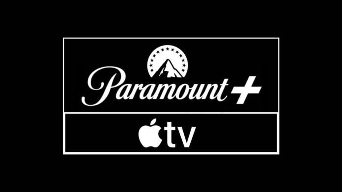 Paramount Plus and Apple TV Logotypes