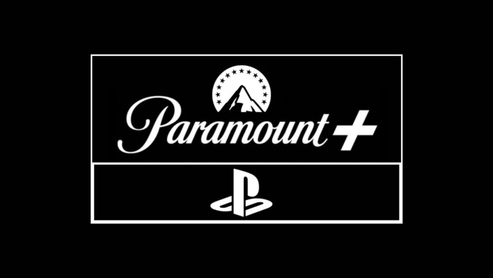 Paramount Plus and PlayStation Logotypes
