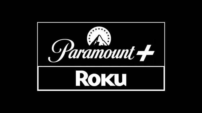 Paramount Plus and Roku Logotypes