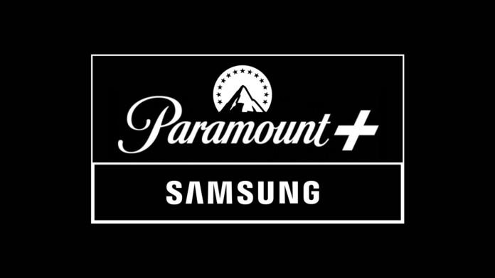 Paramount Plus and Samsung Logotypes