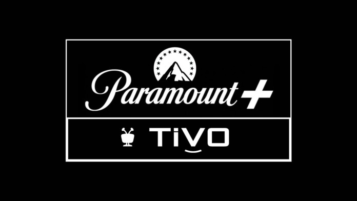 Paramount Plus and TiVO Logotypes