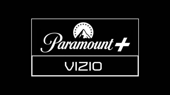 Paramount Plus and Vizio Logotypes