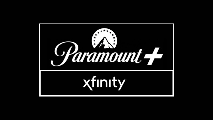 Paramount Plus and Xfinity Logotypes