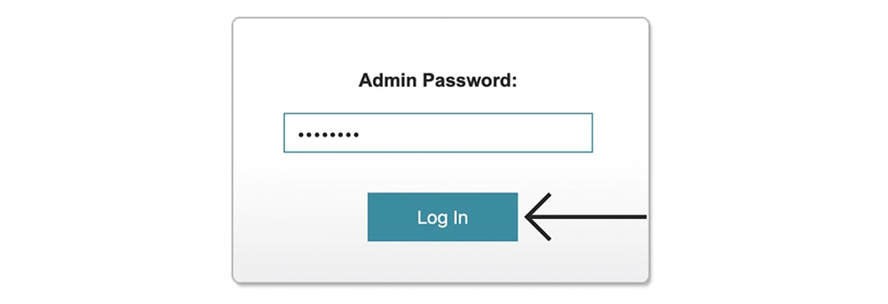Password for D-Link Router Admin Panel