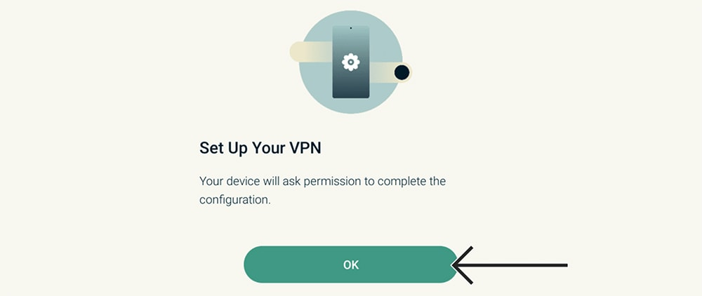 Setting Up VPN Profile of ExpressVPN on Android TV