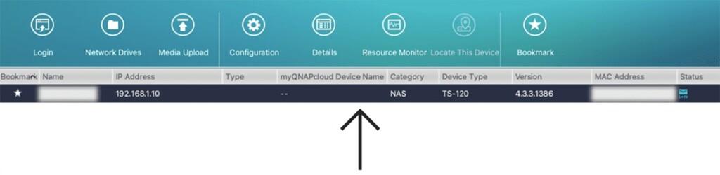 Accessing QNAP Device