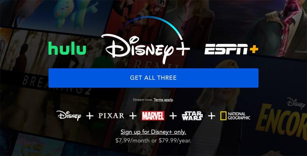 Disney Plus Sign Up Landing Page