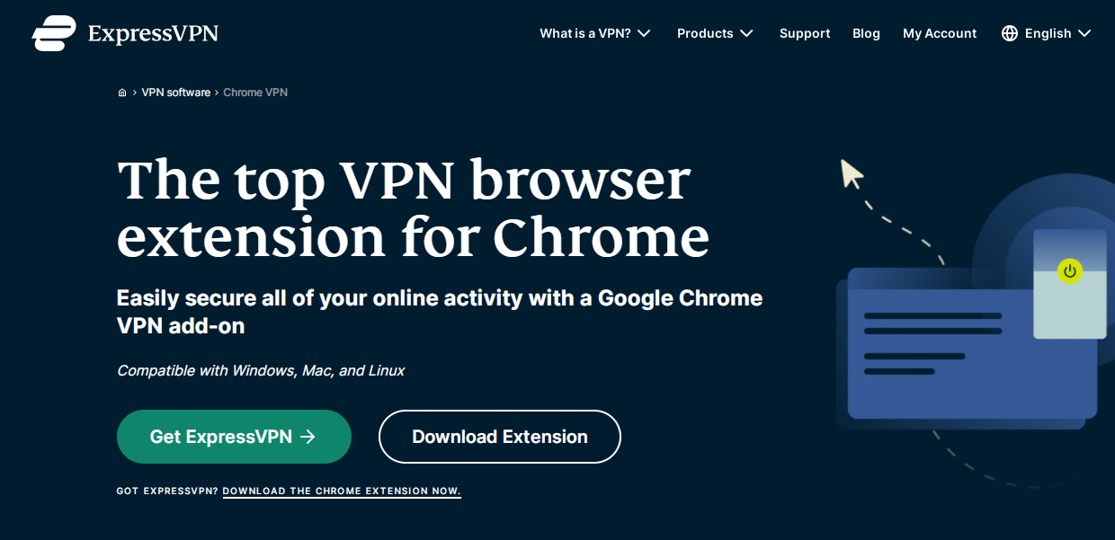 how to add vpn extension in chrome from expressvpn website