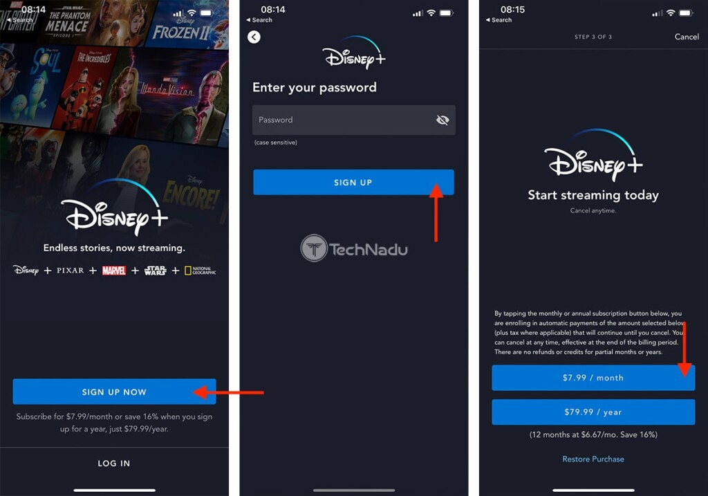 Signing Up for Disney Plus Outside the US copy