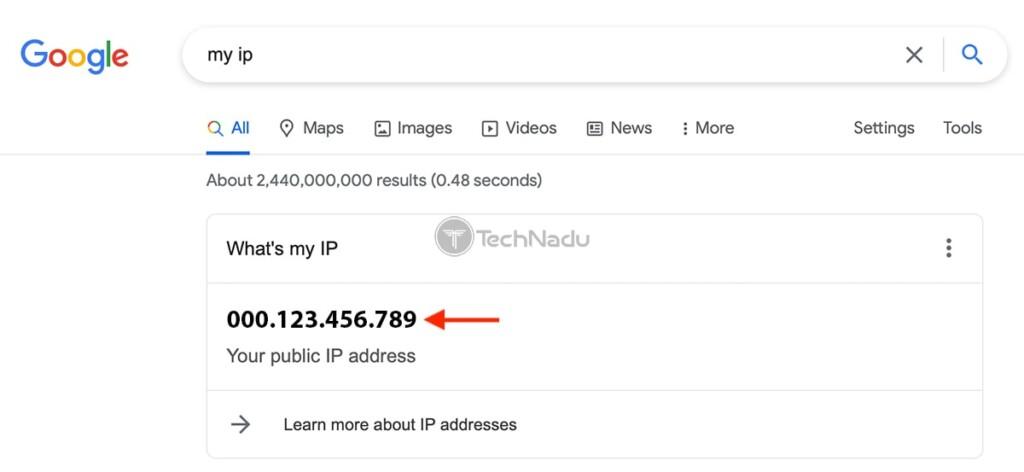 Checking Source IP Address