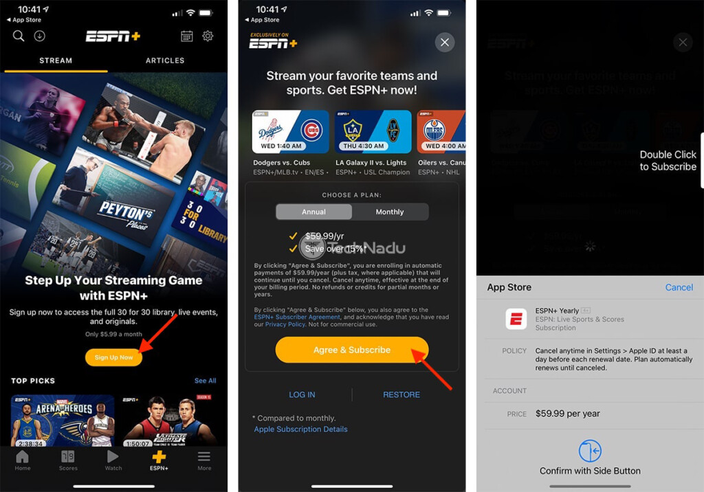 Purchasing ESPN Plus Subscription Outside US on iPhone