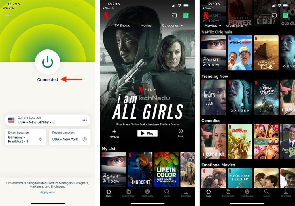 Using VPN to Watch Netflix on iPhone ExpressVPN