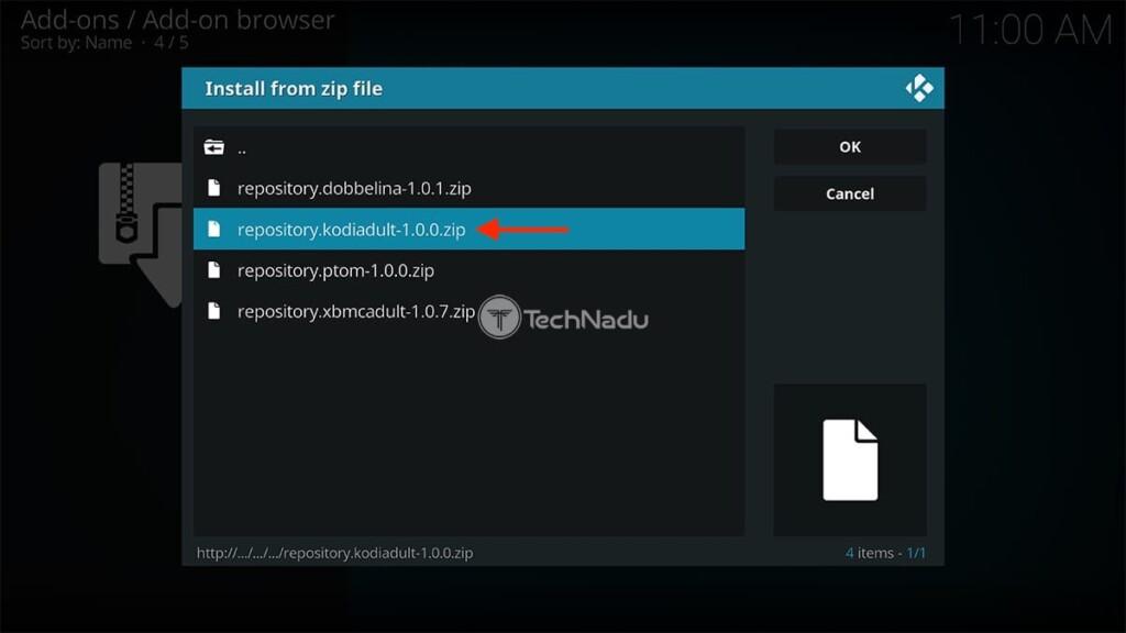 Accessing Fusion Repository on Kodi