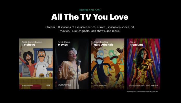 Hulu Shows Movies Originals Premiums