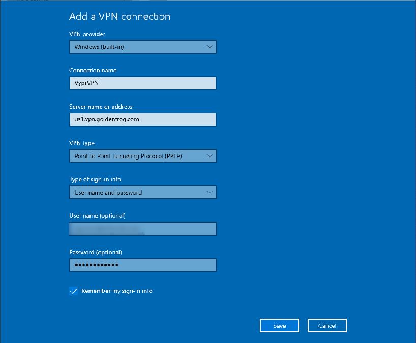 how to setup a pptp vpn on windows 10