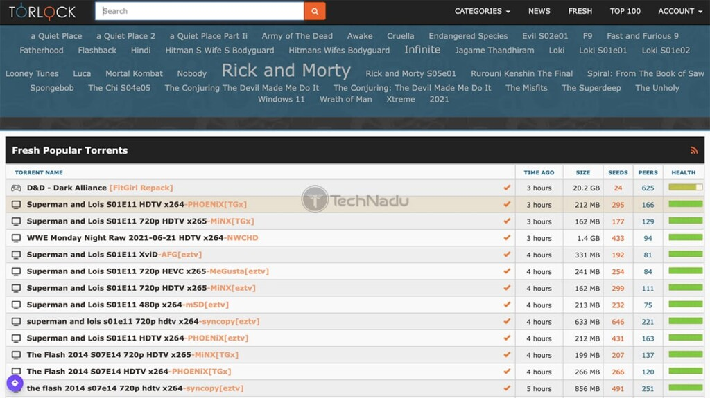 TorLock Home Page