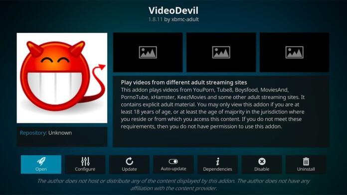 Video Devil Kodi Addon