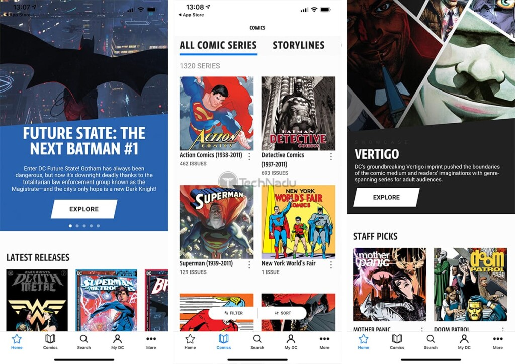 DC Universe Infinite App for iOS