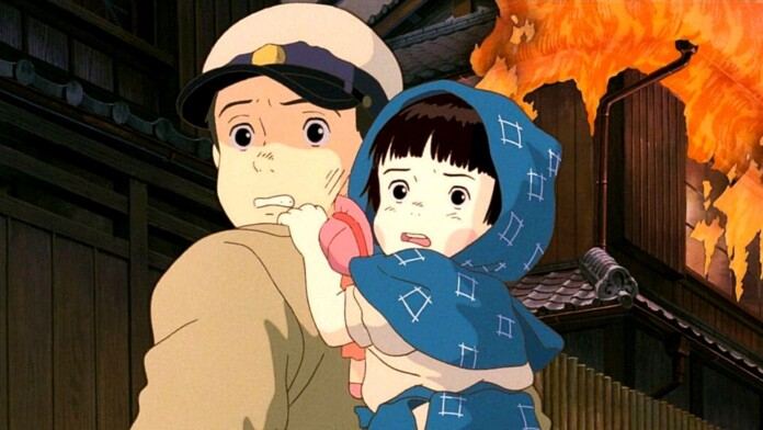 Grave of the Fireflies anime movie