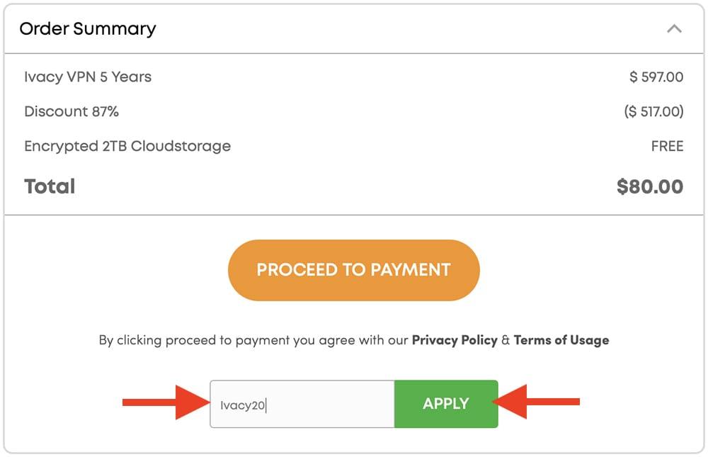 Ivacy VPN Promo Code 20 Percent Off